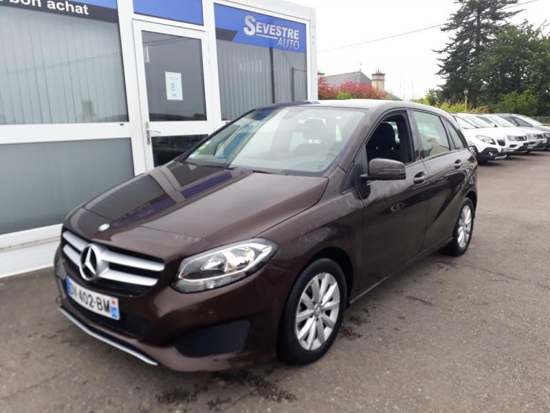 Mercedes-Benz CLASSE B (W246) 160 CDI BUSINESS Diesel MARRON Occasion à vendre