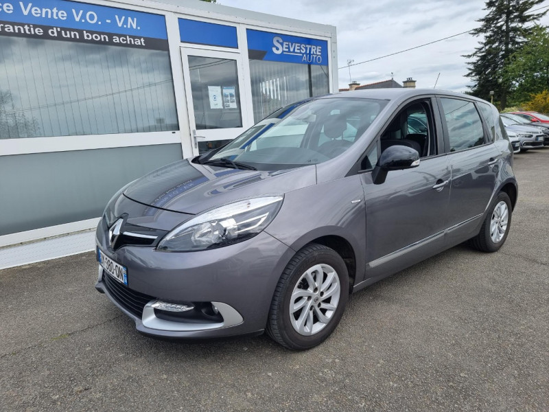 Renault SCENIC III 1.5 DCI 110CH ENERGY BUSINESS ECO² 2015 Diesel GRIS Occasion à vendre