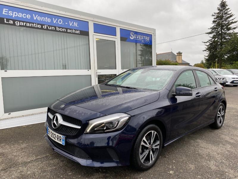 Mercedes-Benz CLASSE A (W176) 180 D INTUITION 7G-DCT Diesel BLEU Occasion à vendre