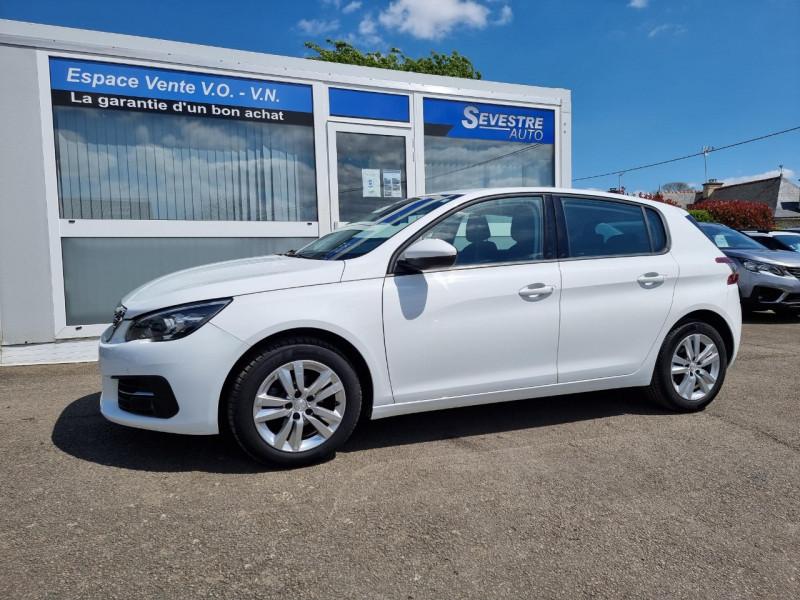 Peugeot 308 1.6 BLUEHDI 100CH S&S ACTIVE BUSINESS Diesel BLANC Occasion à vendre