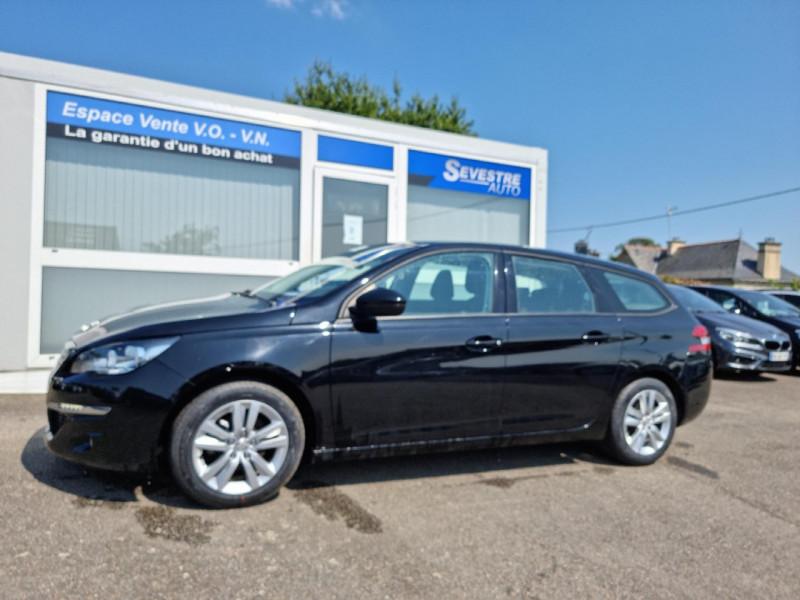 Peugeot 308 SW 1.6 BLUEHDI 100CH ACTIVE BUSINESS S&S Diesel NOIR Occasion à vendre