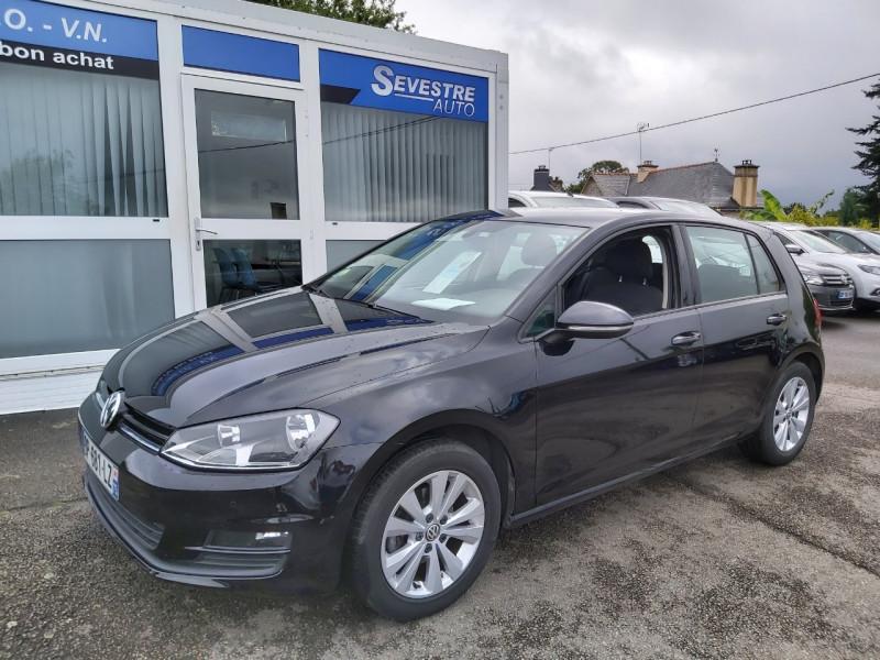 Volkswagen GOLF VII 1.6 TDI 105CH BLUEMOTION TECHNOLOGY FAP CONFORTLINE DSG7 5P Diesel NOIR Occasion à vendre
