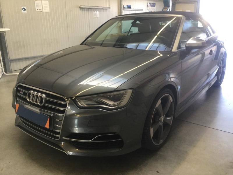 Audi S3 CABRIOLET 2.0 TFSI 300CH QUATTRO S TRONIC 6 Essence GRIS FONCE Occasion à vendre