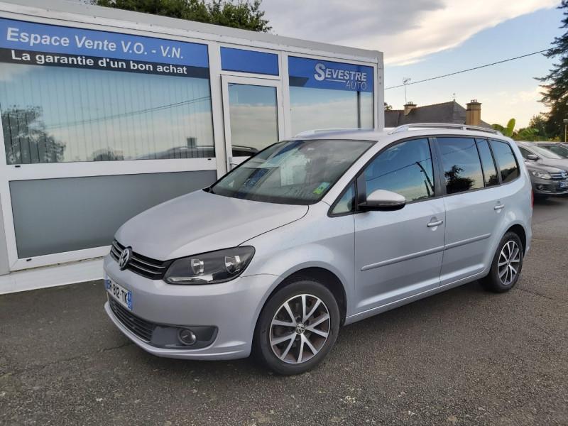 Volkswagen TOURAN 1.6 TDI 105CH FAP DESIGN EDITION Diesel GRIS Occasion à vendre