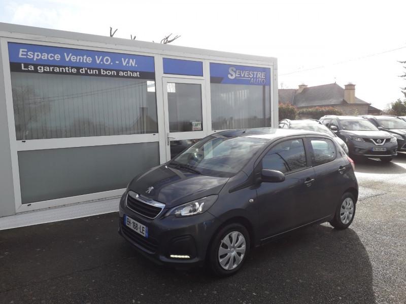 Peugeot 108 1.0 VTI ACTIVE 5P Essence GRIS FONCE Occasion à vendre