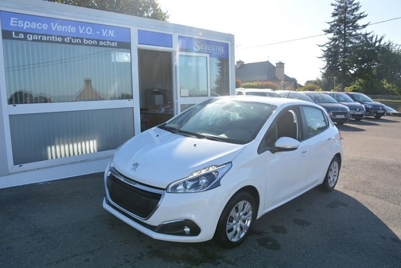 Peugeot 208 1.0 PURETECH ACTIVE 5P Essence BLANC Occasion à vendre
