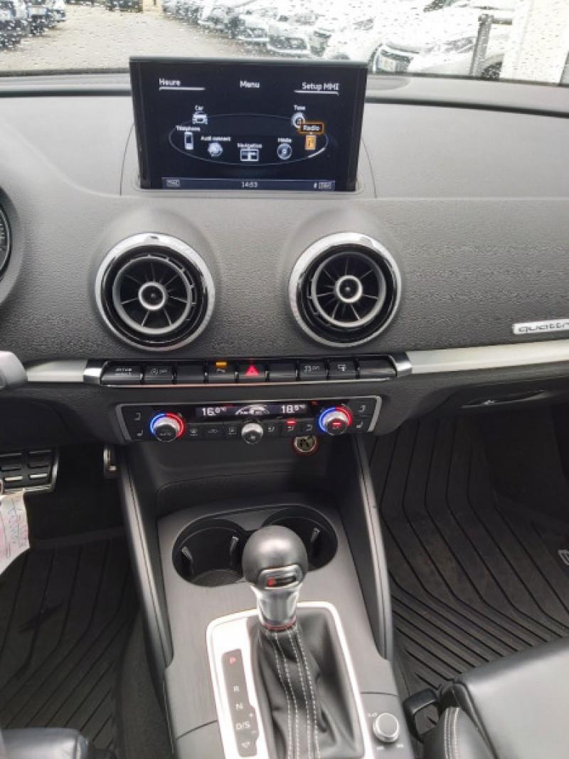 Photo 7 de l'offre de AUDI S3 CABRIOLET 2.0 TFSI 300CH QUATTRO S TRONIC 6 à 32990€ chez Sevestre Automobiles