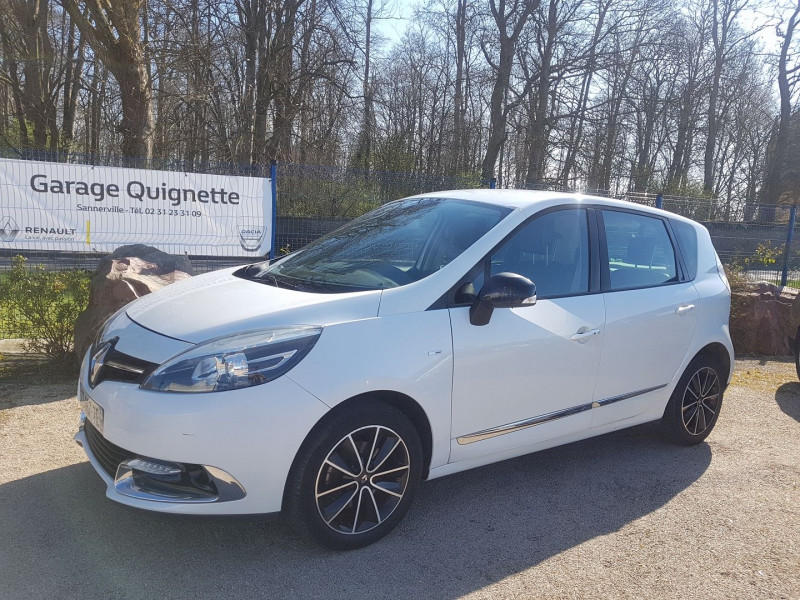Renault SCENIC III 1.5 DCI 110 CH ENERGY BOSE ECO² Diesel BLANC Occasion à vendre