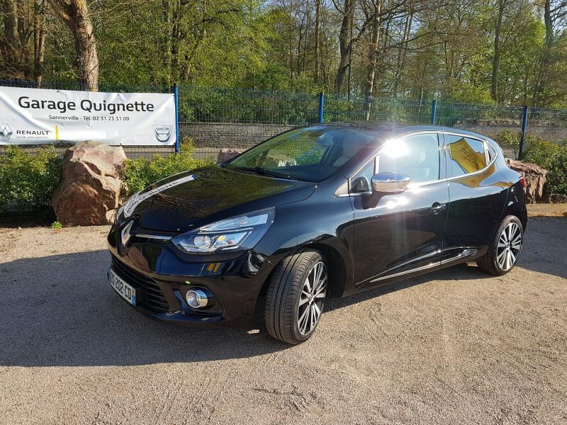 Renault CLIO IV 0.9 TCE 90 CH ENERGY INITIALE PARIS ECO² Essence NOIR Occasion à vendre