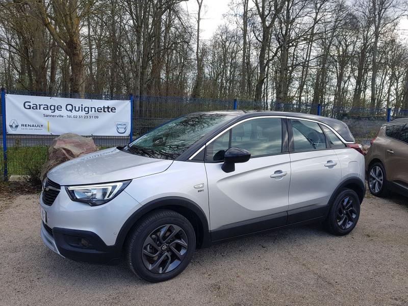 Opel CROSSLAND X 1.2 TURBO 110 CH DESIGN 120 ANS EURO 6D-T Essence GRIS Occasion à vendre