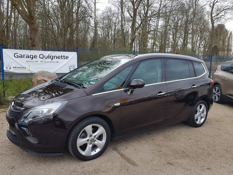 Opel ZAFIRA TOURER 1.6 CDTI 136CH ECOFLEX COSMO PACK START/STOP 7 PLACES Diesel MARRON Occasion à vendre