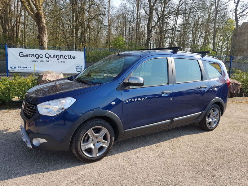 Photo 1 de l'offre de DACIA LODGY 1.5 BLUE DCI 115 CH STEPWAY 5 PLACES à 13490€ chez Agence Quignette