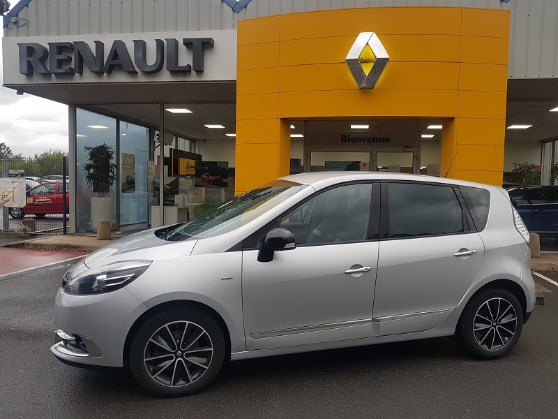 Renault SCENIC III 1.5 DCI 110 CH ENERGY BOSE ECO² Diesel GRIS Occasion à vendre