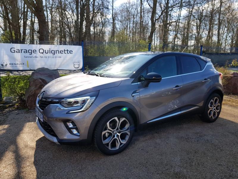 Renault CAPTUR II 1.3 TCE 130 CH FAP INTENS EDC Essence GRIS C Occasion à vendre