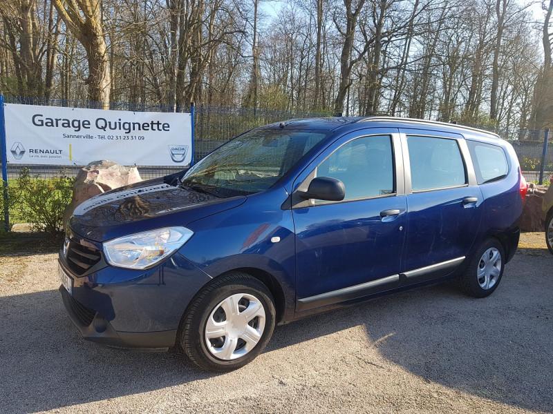 Dacia LODGY 1.2 TCE 115 CH SILVER LINE EURO6 5 PLACES Essence BLEU F Occasion à vendre