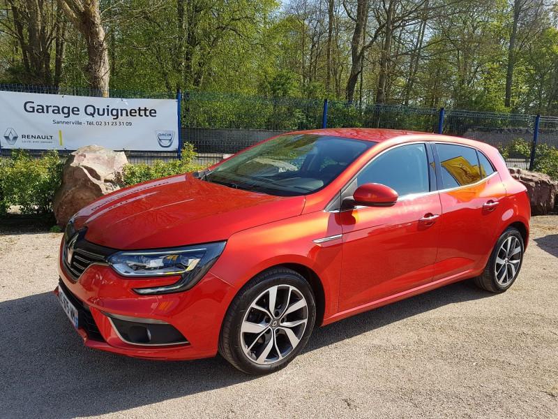 Renault MEGANE IV 1.5 DCI 110 CH ENERGY INTENS EDC Diesel ROUGE Occasion à vendre