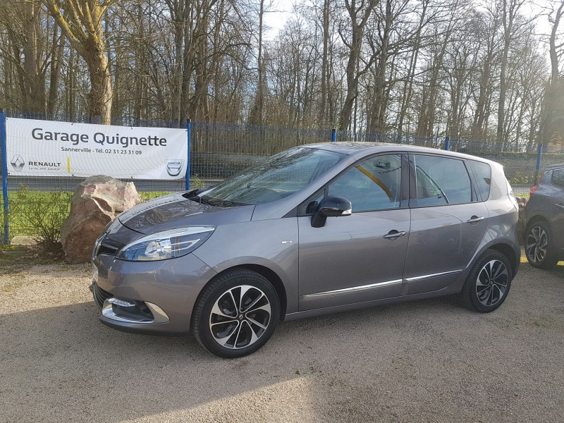 Renault SCENIC III 1.5 DCI 110 CH ENERGY BOSE ECO² EURO6 2015 Diesel GRIS Occasion à vendre