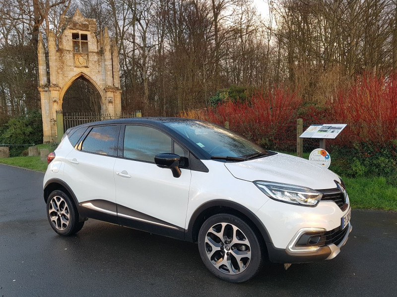 Renault CAPTUR 1.2 TCE 120 CH ENERGY INTENS Essence BLANC Occasion à vendre