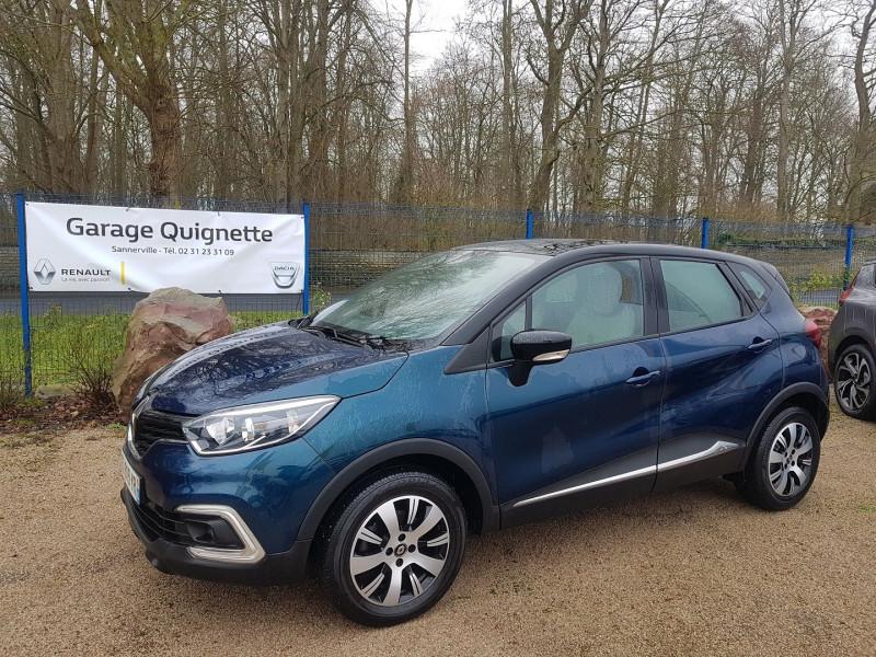 Renault CAPTUR 1.5 DCI 90 CH ENERGY BUSINESS ECO² Diesel BLEU C Occasion à vendre