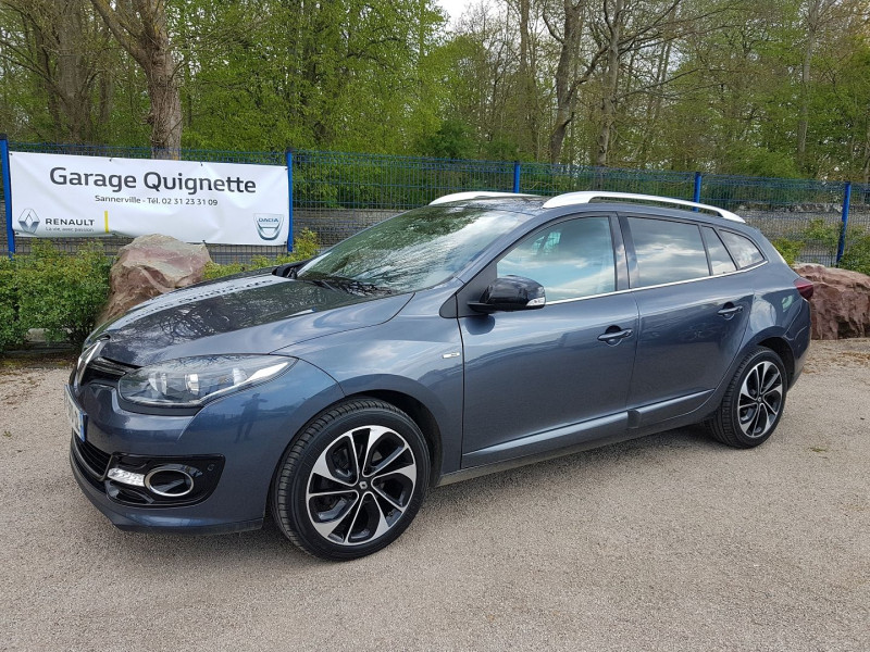 Renault MEGANE III ESTATE 1.5 DCI 110 CH ENERGY BOSE ECO² 2015 Diesel GRIS F Occasion à vendre