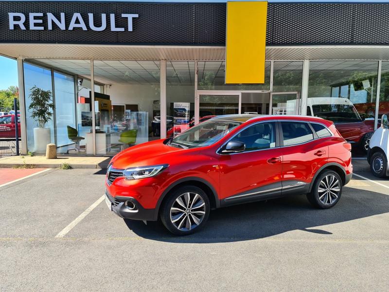 Renault KADJAR 1.6 DCI 130 CH ENERGY INTENS BOSE Diesel ROUGE Occasion à vendre