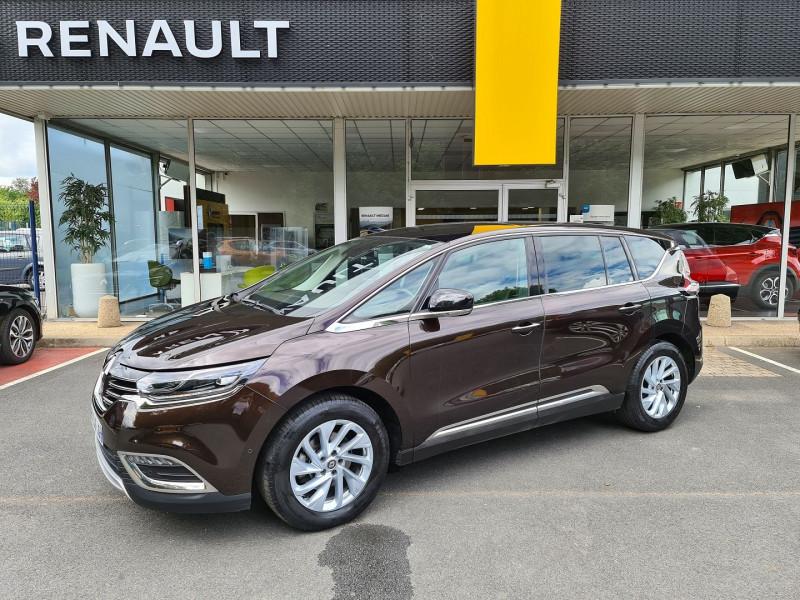 Renault ESPACE V 1.6 DCI 160 CH ENERGY ZEN EDC Diesel MARRON Occasion à vendre