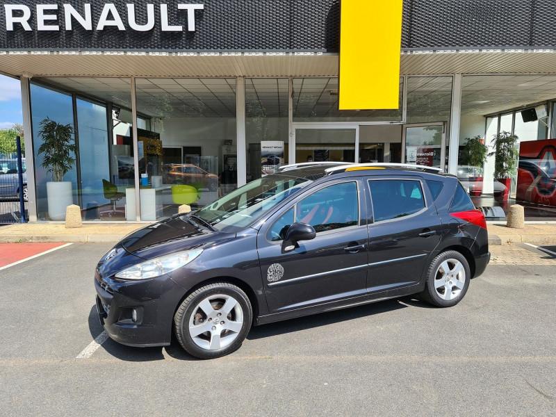 Peugeot 207 SW 1.6 HDI FAP BLUE LION SERIE 64 Diesel NOIR Occasion à vendre