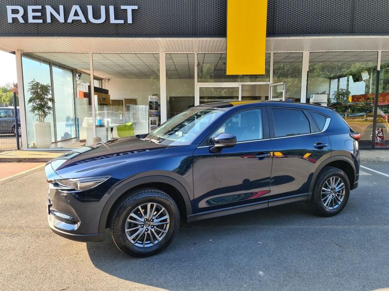 Mazda CX-5 2.0 SKYACTIV-G 165 DYNAMIQUE 4X2 EURO6D-T Essence BLEU F Occasion à vendre