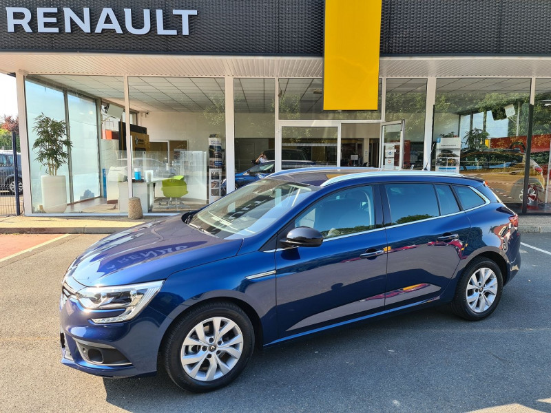 Renault MEGANE IV ESTATE 1.3 TCE 140 CH FAP LIMITED EDC Essence BLEU Occasion à vendre