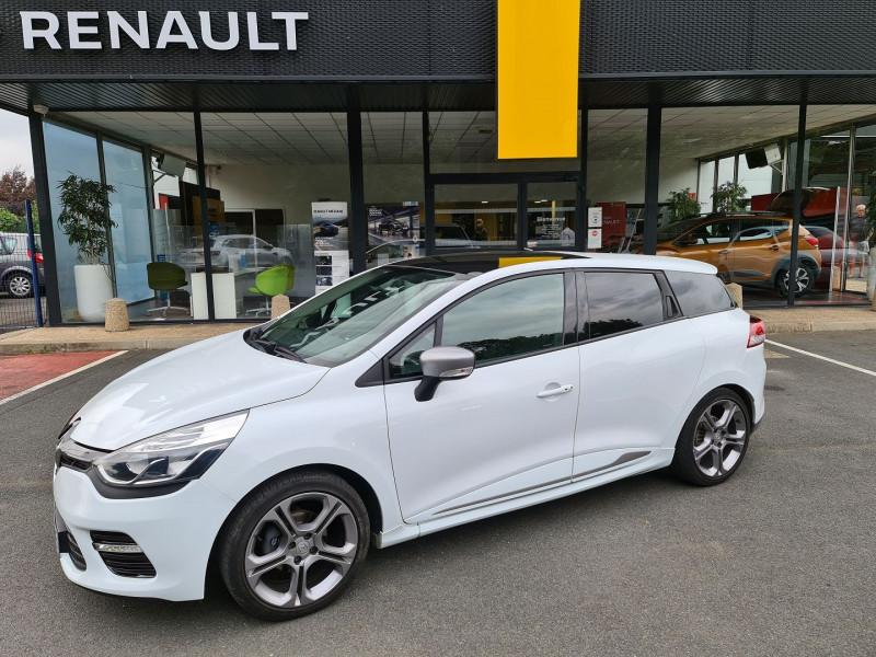Renault CLIO IV ESTATE 1.2 TCE 120 CH ENERGY GT EDC EURO6 2015 Essence BLANC Occasion à vendre