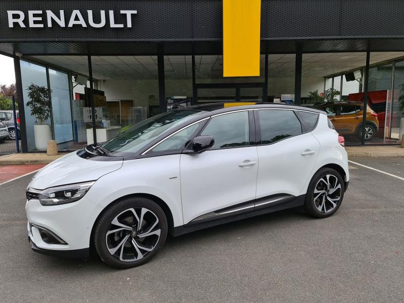 Renault SCENIC IV 1.3 TCE 140 CH FAP INTENS BOSE Essence BLANC Occasion à vendre