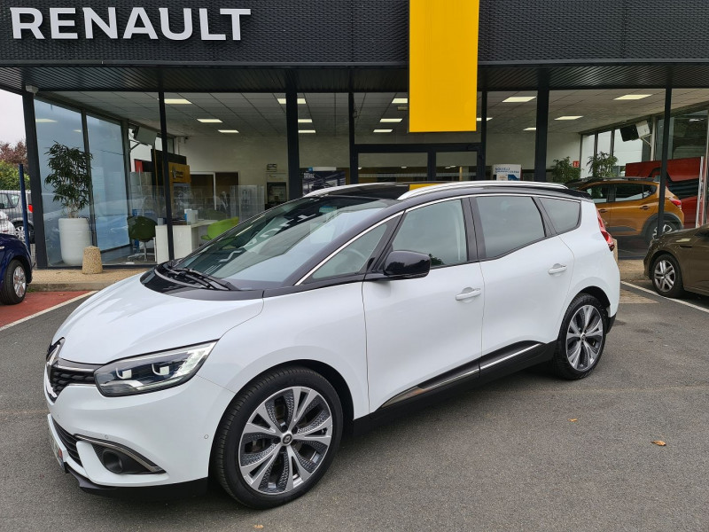 Renault GRAND SCENIC IV 1.6 DCI 130 CH ENERGY INTENS Diesel BLANC Occasion à vendre