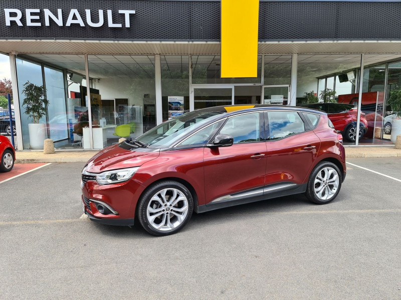 Renault SCENIC IV 1.6 DCI 130 CH ENERGY BUSINESS Diesel ROUGE Occasion à vendre