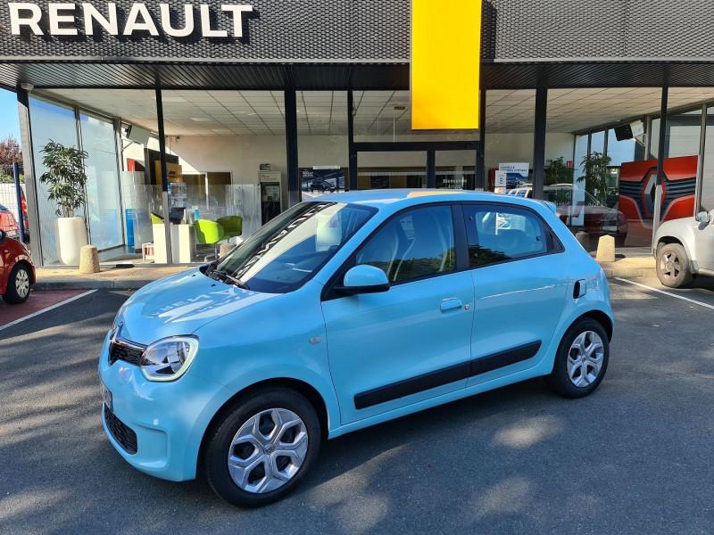 Renault TWINGO III 1.0 SCE 65 CH ZEN - 21 Essence BLEU C Occasion à vendre