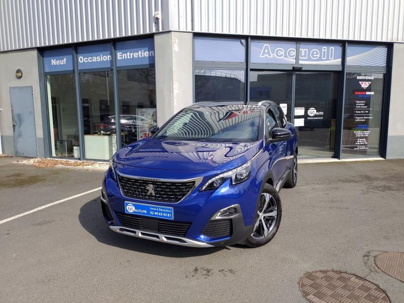 Peugeot 3008 1.5 BLUEHDI 130CH E6.C GT LINE S&S EAT8 Diesel BLEU MAGNETIC / N Occasion à vendre