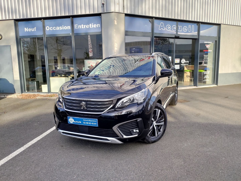 Peugeot 5008 1.5 BLUEHDI 130CH E6.C ALLURE S&S 6CV Diesel NOIR PERLA NERA Occasion à vendre
