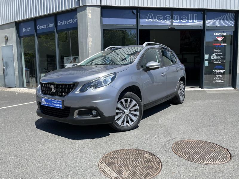 Peugeot 2008 1.6 BLUEHDI 100CH ACTIVE BUSINESS S&S Diesel GRIS ARTENSE Occasion à vendre