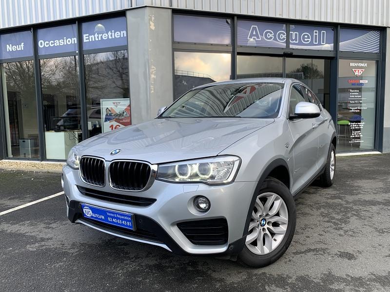 Photo 1 de l'offre de BMW X4 F26 XDRIVE20DA 190CH LOUNGE PLUS à 27480€ chez NG AUTO
