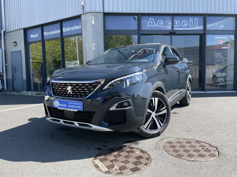 Peugeot 3008 BlueHDi 130ch S&S EAT8 GT Line Diesel GRIS HURRICANE Occasion à vendre