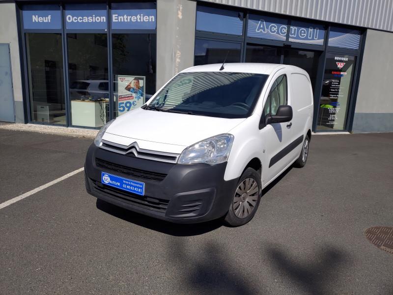 Citroen BERLINGO FOURGON M BLUEHDI 75 BUSINESS Diesel Blanc Occasion à vendre