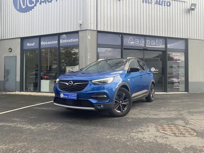 Opel GRANDLAND X 1.2 TURBO 130CH DESIGN LINE 120 ANS Essence sans plomb BLEU TOPAZE/NOIR Occasion à vendre