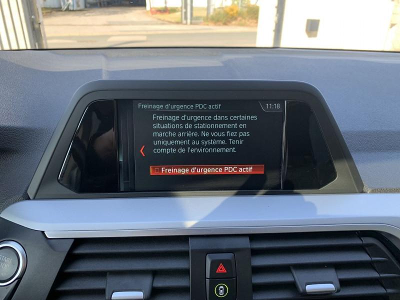 Photo 12 de l'offre de BMW X3 G01 SDRIVE18DA 150CH BUSINESS DESIGN EURO6C à 35780€ chez NG AUTO