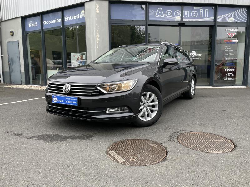 Volkswagen PASSAT SW 1.6 TDI 120 BMT DSG7 Confortline Diesel GRIS FONCE Occasion à vendre