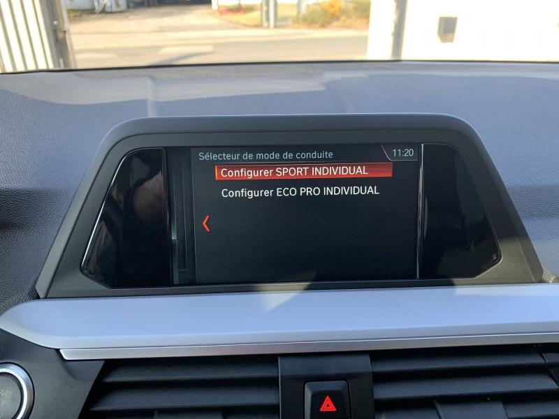 Photo 16 de l'offre de BMW X3 G01 SDRIVE18DA 150CH BUSINESS DESIGN EURO6C à 35780€ chez NG AUTO