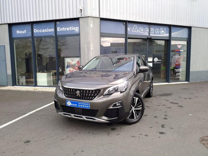 Peugeot 3008 Puretech 130ch S&S BVM6 Allure Essence sans plomb GRIS AMAZONITE Occasion à vendre
