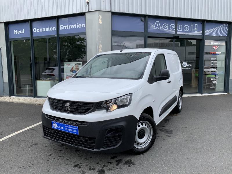 Peugeot PARTNER FOURGON STANDARD 1000 KG BLUEHDI 100 S&S BVM5 PRO Diesel Blanc Occasion à vendre