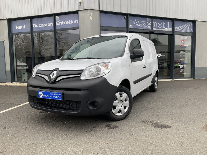 Renault KANGOO II EXPRESS MAXI 1.5 BLUE DCI 95CH GRAND VOLUME EXTRA R-LINK Diesel BLANC MINERAL Occasion à vendre