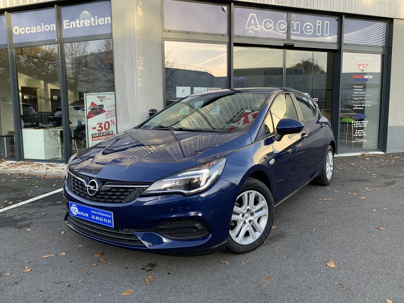 Opel ASTRA 1.2 TURBO 110CH EDITION 6CV Essence sans plomb BLEU NAUTIQUE Occasion à vendre