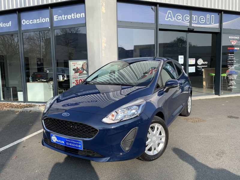 Ford FIESTA 1.1 70CH ESSENTIAL 3P EURO6.2 Essence sans plomb BLEU FONCE Occasion à vendre