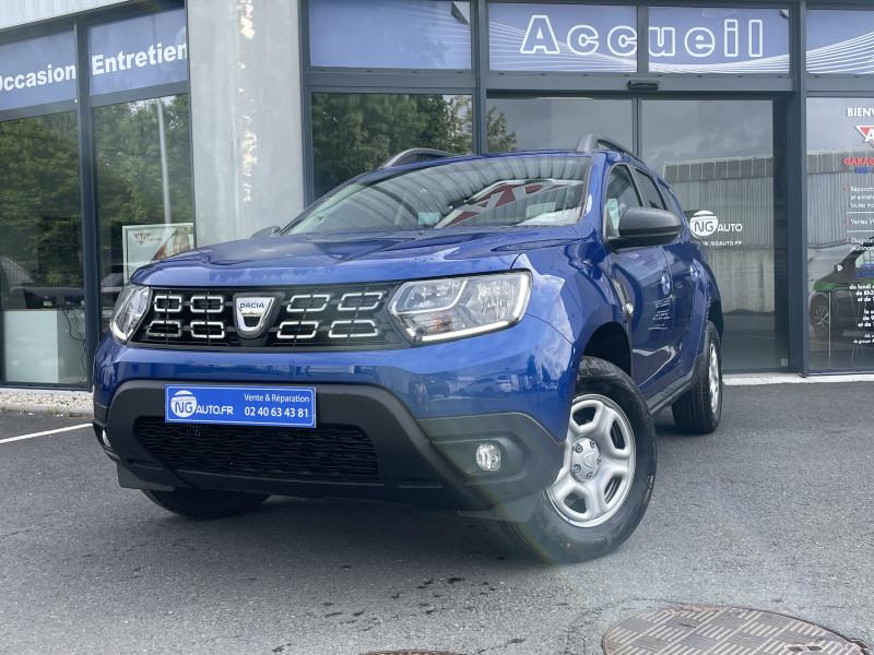 Dacia DUSTER TCe 90 4x2 Limited Cool - 5P Essence sans plomb BLEU IRON Occasion à vendre